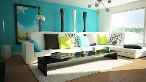 bedroom color palettes examples blue  living room cheerful living room wall colors applying blue tosca and