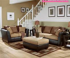 Living Room Surprising Ashley Furniture Sets Fabric Leather Image Of Fresh At Concept 2017