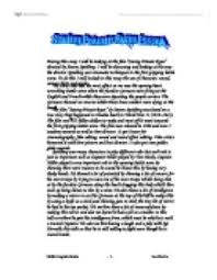 saving private ryan essay    university media studies   marked by    page  zoom in