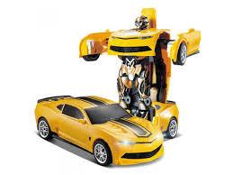<b>Радиоуправляемый робот трансформер</b> JiaQi Chevrolet Camaro ...