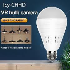 Videcam Wifi Panorama Icy CHHD Camera Security Lamp ...