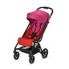 <b>Прогулочная коляска</b>-книжка <b>Eezy</b> S Plus от <b>Cybex</b> цвет Fancy Pink