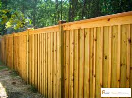 nice wood privacy fence designs