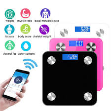 New <b>180kg Body Fat</b> Scale Floor Scientific Smart Electronic LED ...