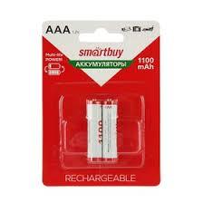 <b>Аккумулятор Smartbuy</b>, Ni-Mh, <b>AAA</b>, HR03-2BL, 1.2В, 1100 мАч ...