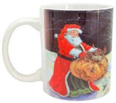 <b>Кружка Winter Wings</b> Дед Мороз с подарками — купить недорого ...