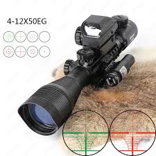CRUSHUNT Tactical <b>ACOG 1X32 Red Dot Sight Optical</b> Rifle ...