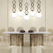 dining room designer furniture exclussive high: large contemporary italian rectangular marble dining table