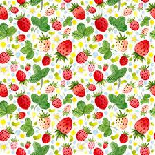 HUAYI Strawberry Theme vinyl Backdrop Birthday Party Decoration ...