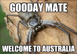 Gooday Mate welcome to australia - Welcome! - quickmeme via Relatably.com