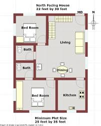 Types south facing duplex house plansDuplex house plan for north facing plot feet by feet