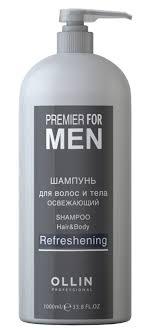 OLLIN PROFESSIONAL <b>Шампунь освежающий</b> для волос и тела ...