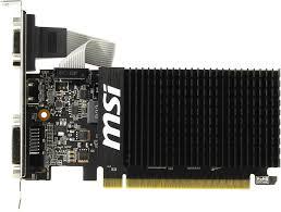 <b>Видеокарта MSI GeForce</b>® GT 710 1 Гб DDR3 — купить, цена и ...