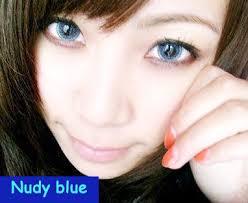 Znalezione obrazy dla zapytania blue circle lenses