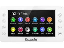 Купить <b>видеодомофон Falcon Eye FE-70CH</b> ORION DVR белый ...