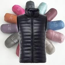 <b>ZOGAA Brand</b> Vest <b>Men</b> Winter Duck Down Ultra Light Duck Down ...