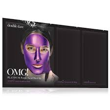 Double Dare OMG! Platinum Purple Facial Mask Kit <b>Маска</b> ...