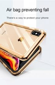 Baseus ® Apple iPhone XS MAX <b>Air Bag</b> Case <b>Anti</b>-<b>Drop</b> 4-Corner ...