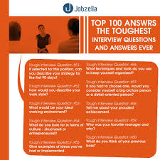 100 interview questions and answers jobzella interview questions