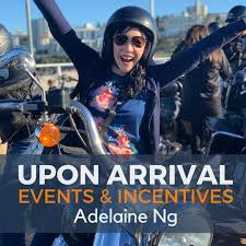 Upon Arrival | Events & Incentives with Adelaine Ng