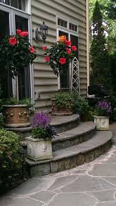 patio steps pea size x: decending and able to keep  oclock bed curved stone steps for patio entrance