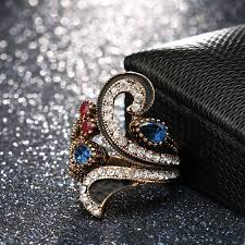 Cheap best <b>Luxury Rhinestone Women</b> Rings Gemstone <b>Crystal S</b> ...
