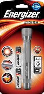 ᐉ <b>Фонарь Energizer ENR Metal</b> 639805 серый • Купить в Киеве ...