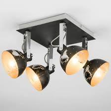 Потолочный светильник <b>eurosvet 20069/4 черный</b> купить в ...