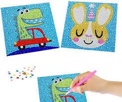 EQLEF Kids <b>Diamond</b> Art <b>Full</b> Kits, Cute 5D Rabbit and <b>Dinosaur</b> ...