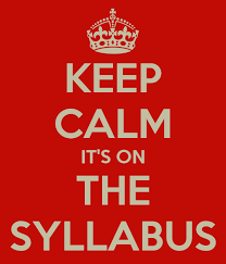 Image result for syllabus back