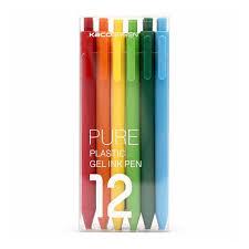 <b>Набор гелевых ручек Xiaomi</b> KACO Pure Plastic Gelic Pen (12шт ...