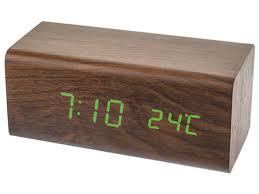 <b>Часы Perfeo Block</b> PF-S718T Brown - НХМТ