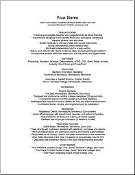 bad resume samplesresume sample template