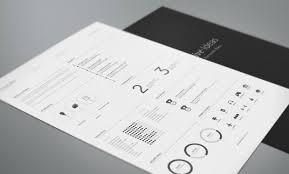 the design blog design inspiration friday bies collection of cv templates hexagon vita by sven kaiser