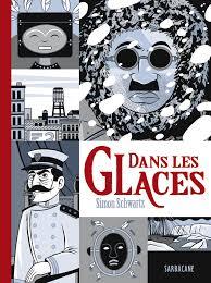 DANS LES GLACES (couverture)
