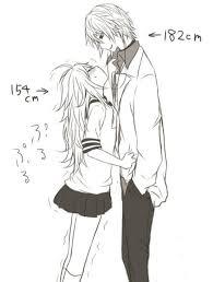 """Résultat de recherche d'images pour """"dessin fille amoureuse manga"""""""