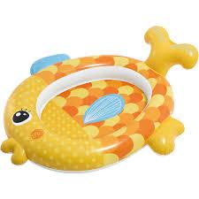 """<b>Детский</b> надувной <b>бассейн INTEX</b> """"Золотая рыбка подружка ..."""