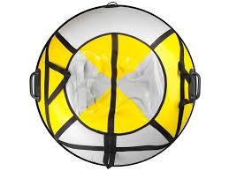 Купить <b>тюбинг спортивную коллекция sport</b> pro flash 110cm yellow ...