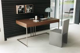large size of desk attractive modern writing desks manufactured wood material medium oak laminate finish attractive modern office desk design