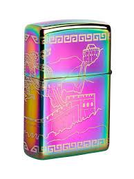 <b>Зажигалка Classic</b> с покрытием <b>Multi Color</b> Zippo 10736063 в ...