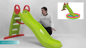 <b>Детская</b> пластиковая <b>горка</b> smoby 310192 - YouTube