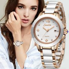 <b>2019 SUNKTA</b> Fashion Women Watches <b>Rose</b> Gold Ladies Bracelet ...