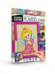 Вышивка на пластиковой канве <b>Danko</b> Toys C-01-05 Ангелочек ...