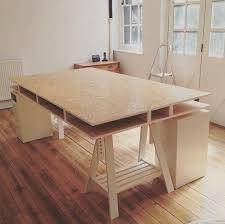 diy how to build a desk hello nancy build office desk