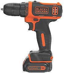 BLACK+DECKER <b>12V MAX Cordless Drill</b>/Driver (BDCDD12C ...