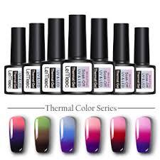 <b>LEMOOC 8ml</b> Nail UV Gel Polish Thermal <b>Color</b> Changing Soak off ...