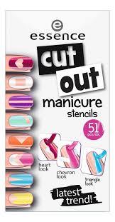 Купить <b>наклейки для ногтей cut</b> out manicure stencils essence ...