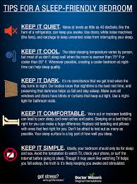 educational media infographics doctor wilson s original tips for a sleep friendly bedroom