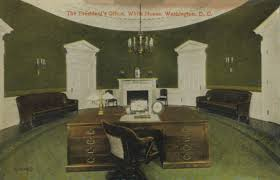 oval office white house. Oval Office 1909 Pd White House