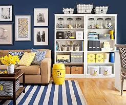 declutter your living room bhg living rooms yellow